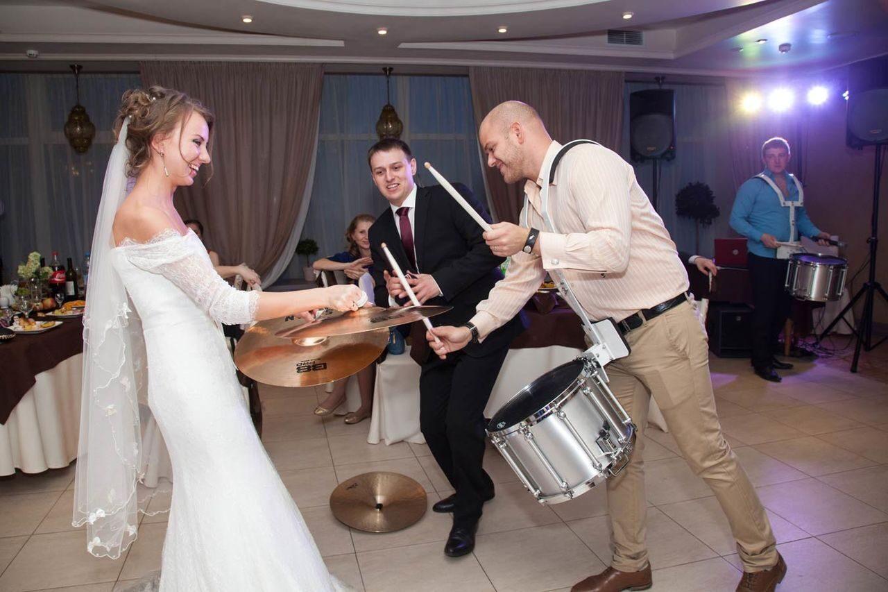 Барабанщики на свадьбу